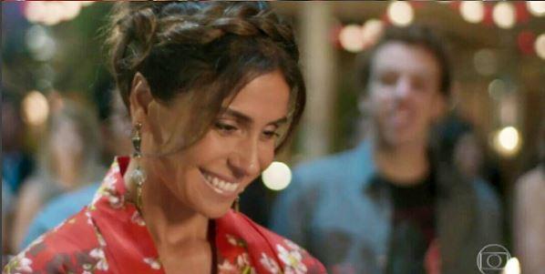 Sol Nascente, festa de despedida da Alice (Giovanna Antonelli)