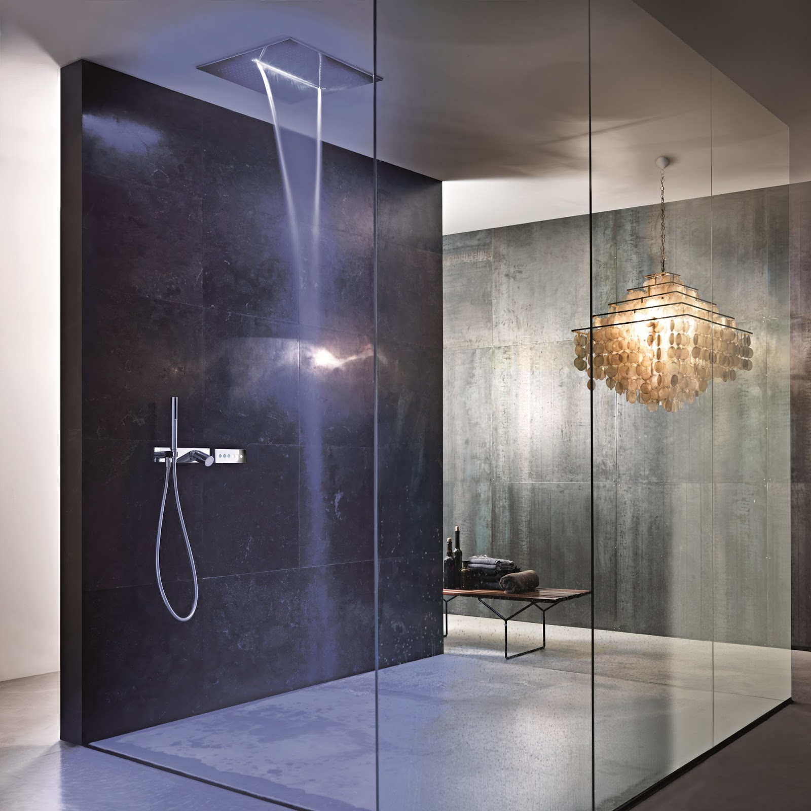 awesome bathrooms and awesome showers most beautiful houses in the world. Black Bedroom Furniture Sets. Home Design Ideas