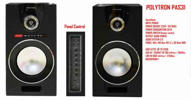 Harga Speaker Aktif Polytron PAS 31