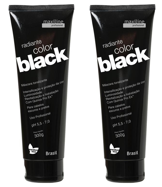 Máscara Color Black da Maxiline