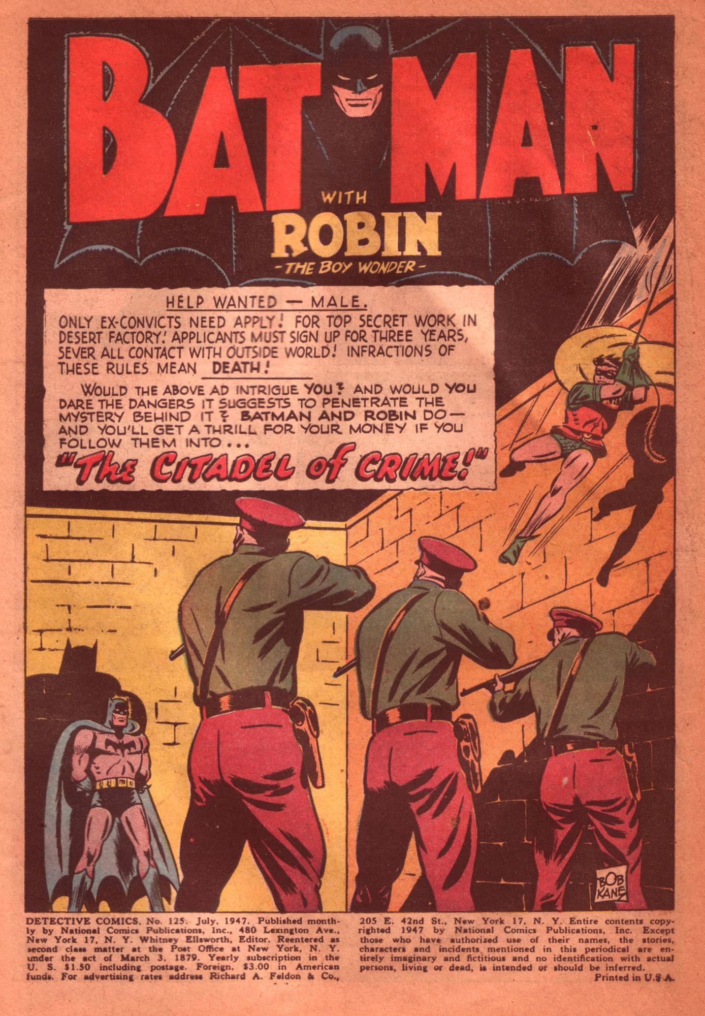Read online Detective Comics (1937) comic -  Issue #125 - 3