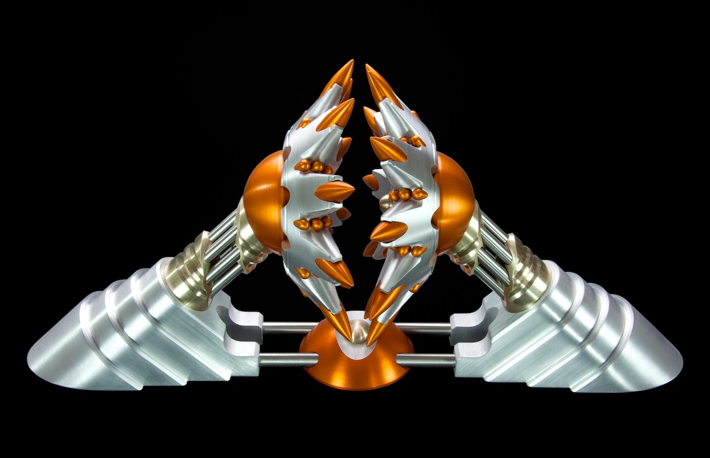 Machine Art, Machined Metal Sculpture, Metal Art (DQ2)