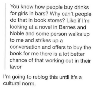 tumblr clip about how guys should buy books for girls