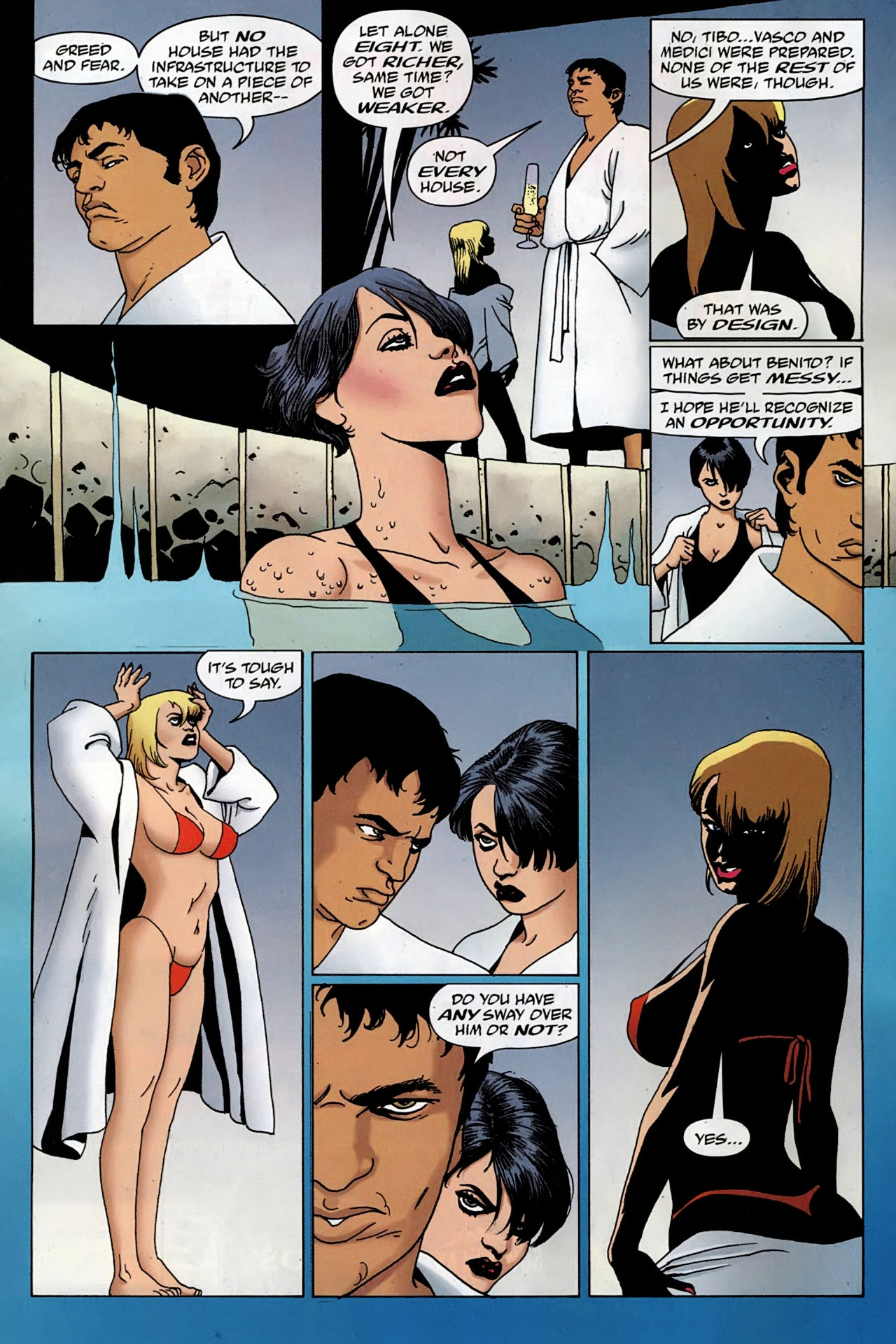 Read online 100 Bullets comic -  Issue #97 - 6