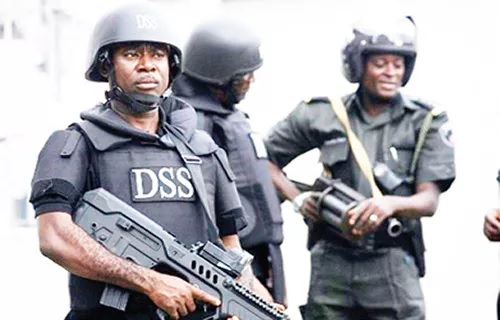 Breaking News: Drama As Masked DSS Operatives, Policemen Take Over National Assembly