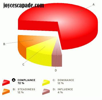 My DISC personality test report - Joy 'N' Escapade