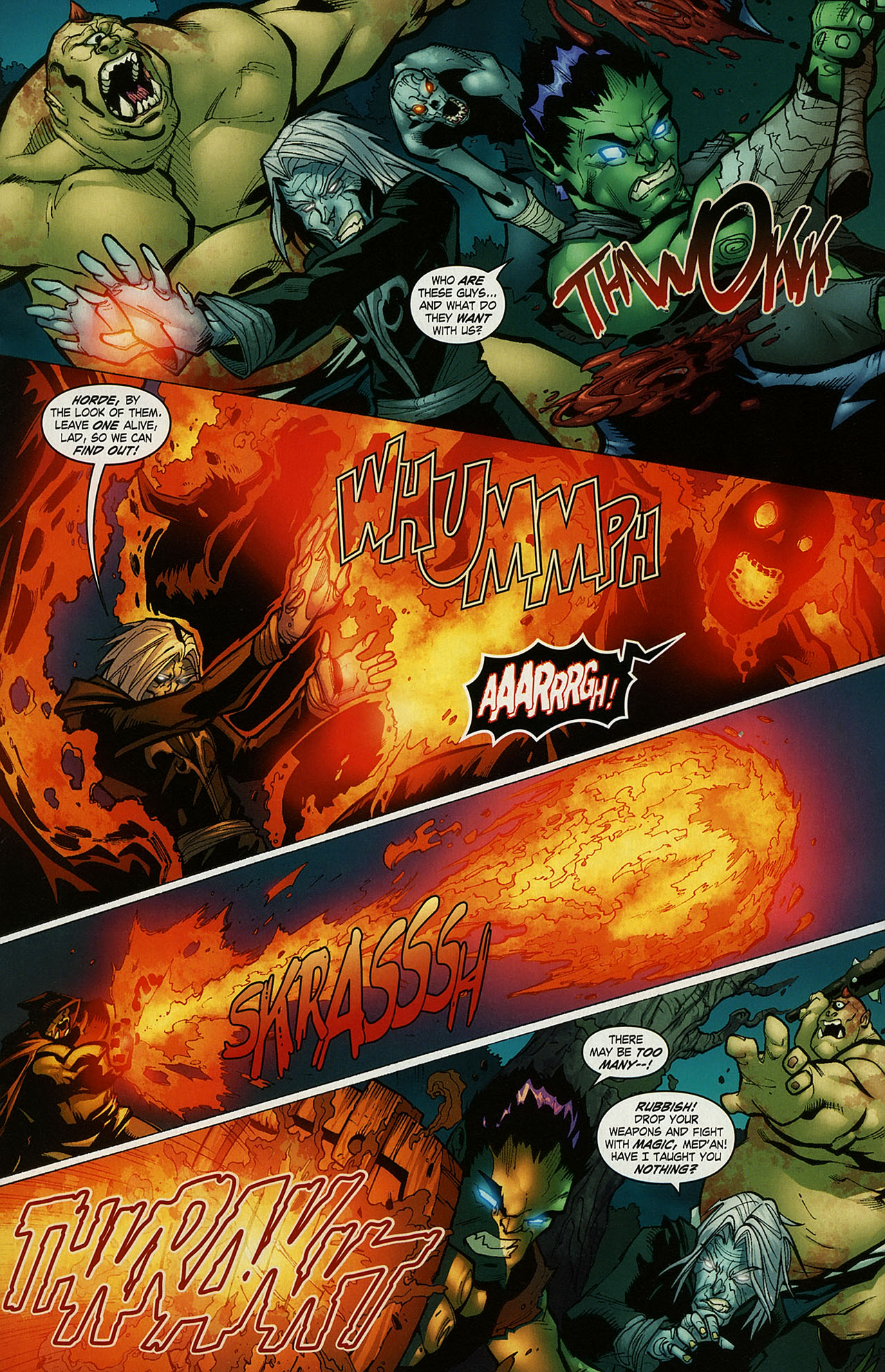 Read online World of Warcraft comic -  Issue #15 - 12
