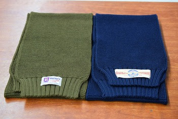 The REAL McCOY'S Wool Knit Scarf