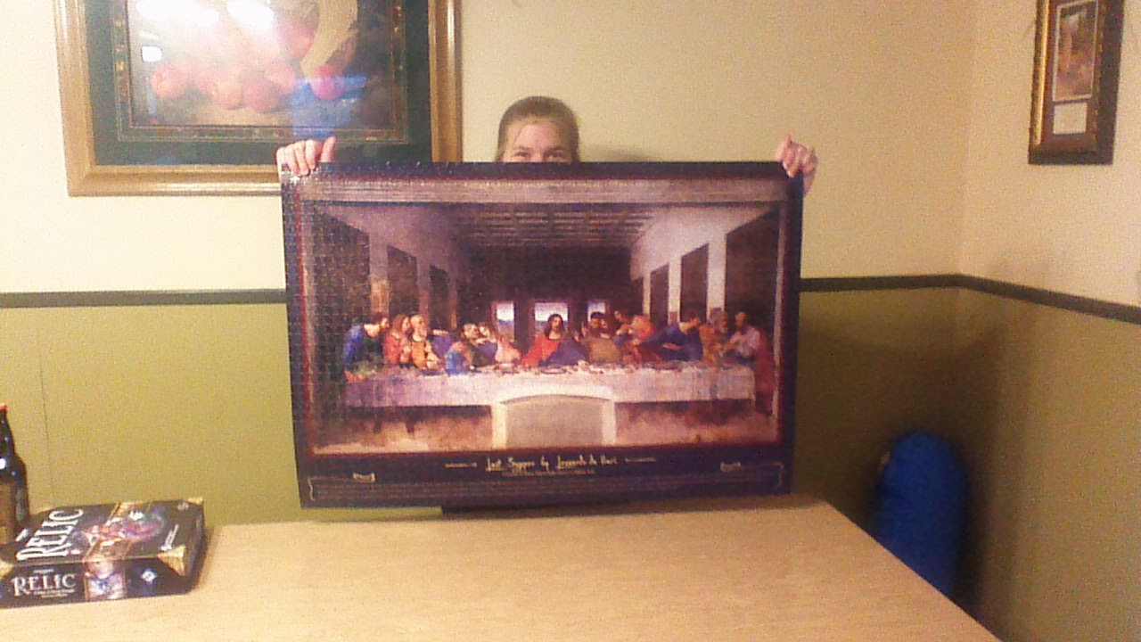 Last Supper Puzzle The Overlords Lair