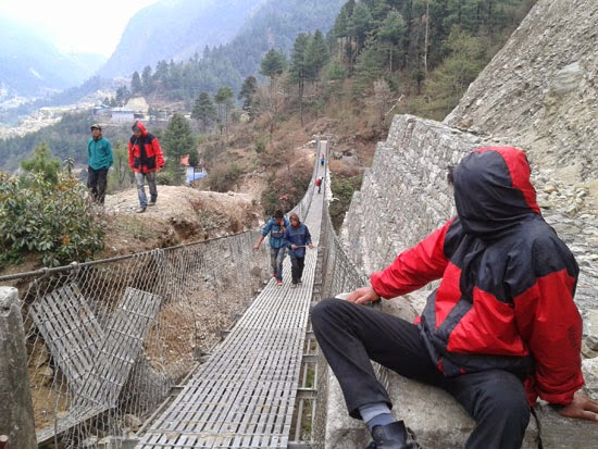 Base camp trek Nepal