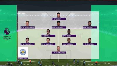 PES 2018 Premier League Scoreboard Final by Cesc