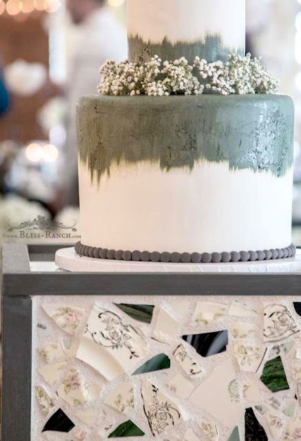 Sage Ombre Cake, Amy's Cupcake Shoppe Bliss-Ranch.com