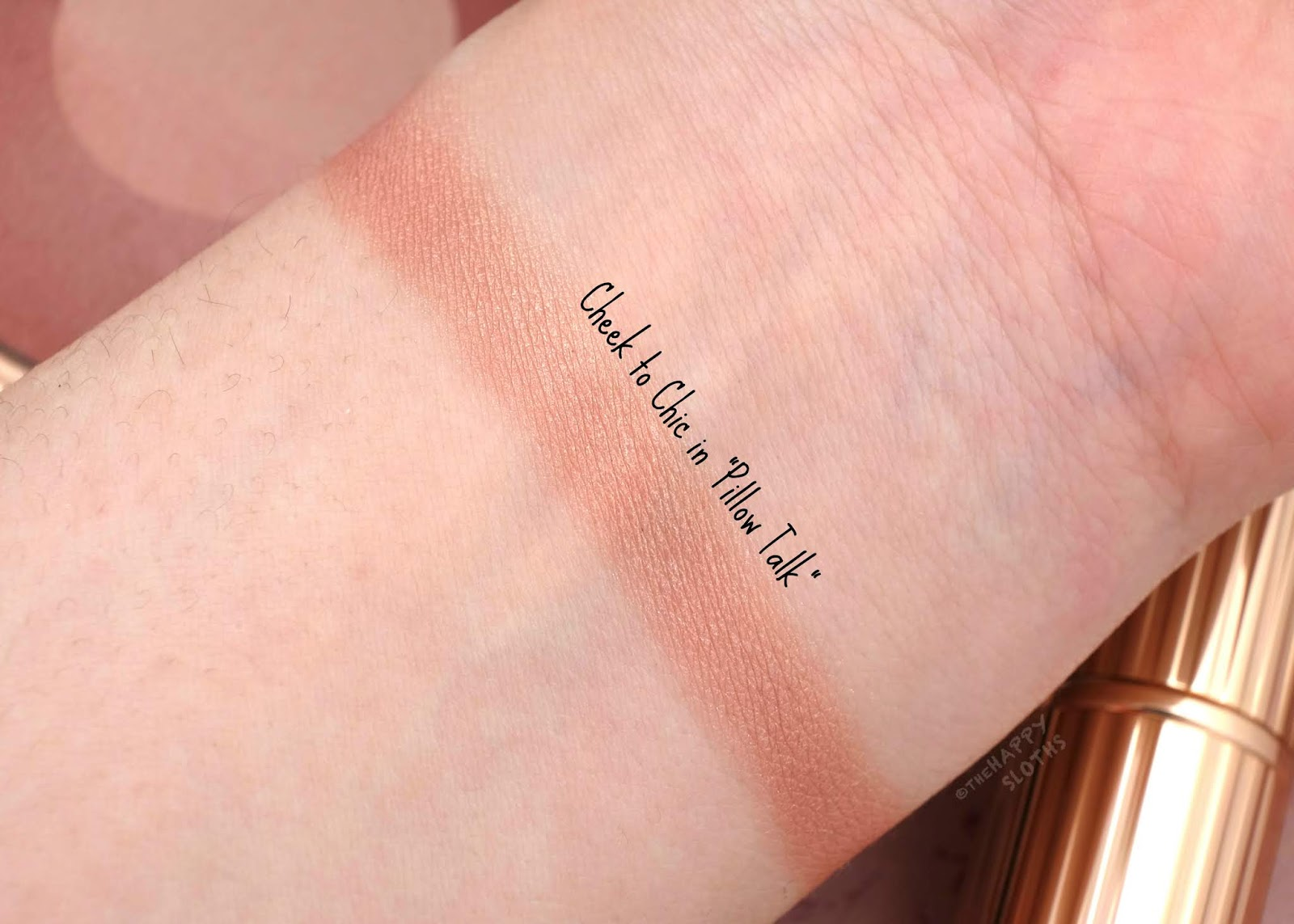 Charlotte Tilbury | Pillow Talk Cheek to Chic Blush: Review and Swatches