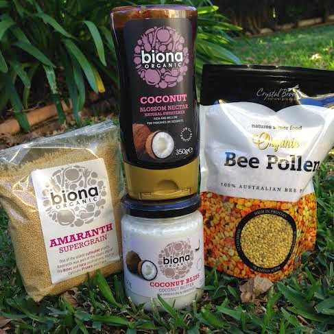 New Food Finds - Amaranth Grain, Coconut Butter, Bee Pollen and Coconut Nectar
