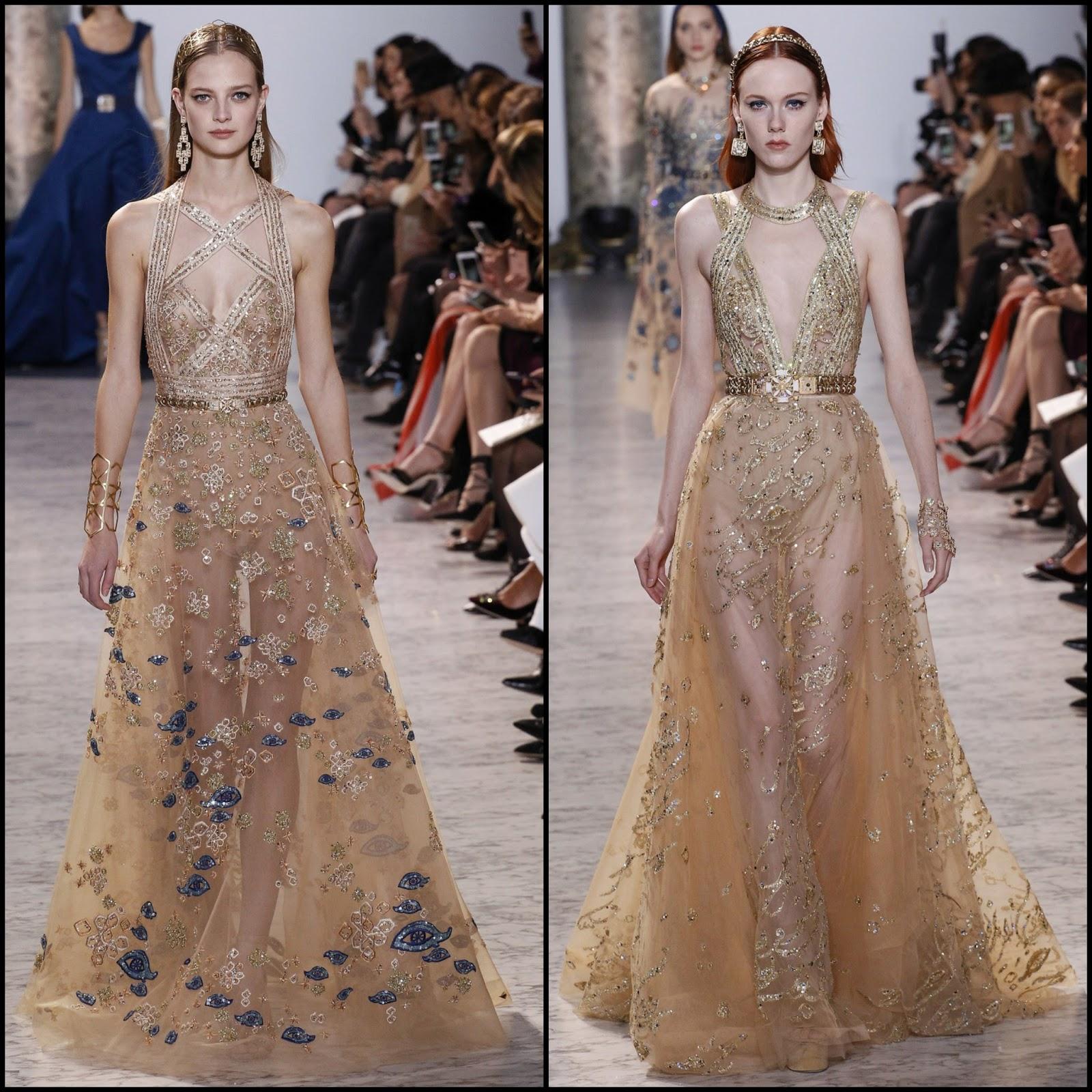 Runway report paris haute couture fashion week elie for Haute couture