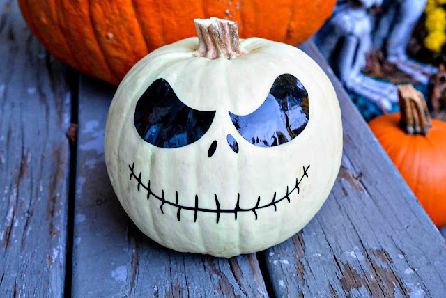 Jack Skellington Pumpkin
