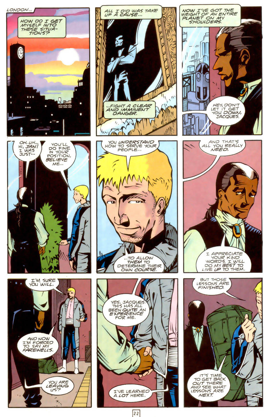 Legion of Super-Heroes (1989) 36 Page 22