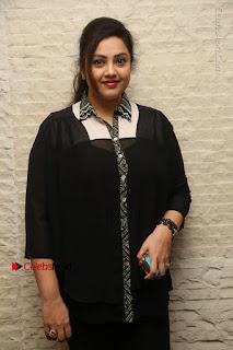 Tamil Actress Meena Latest Stills in Black Dress at TSR TV9 Awards Press Meet  0026.JPG