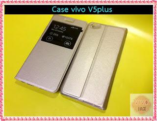 เคส Vivo V5 plus ฝาพับ สีดำ