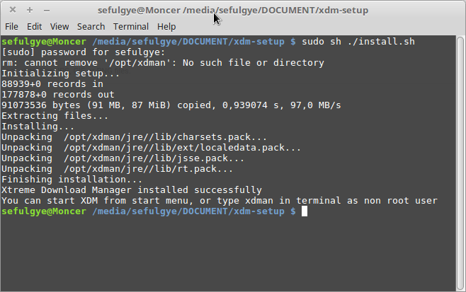 Cara Install XDM/ Xtreme Download Manager 2016 IDM Linux