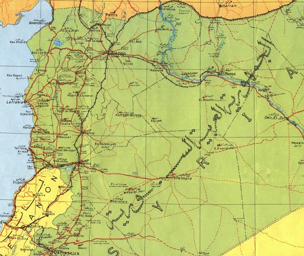 mapping the syrian humanitarian crisis
