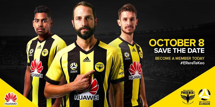 Adidas Wellington Phoenix 17-18 Kits + All-New Club Logo Revealed ... 7b66c6df7