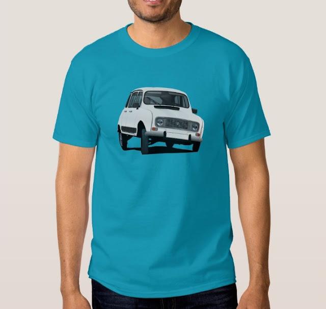 Renault 4 print shirt