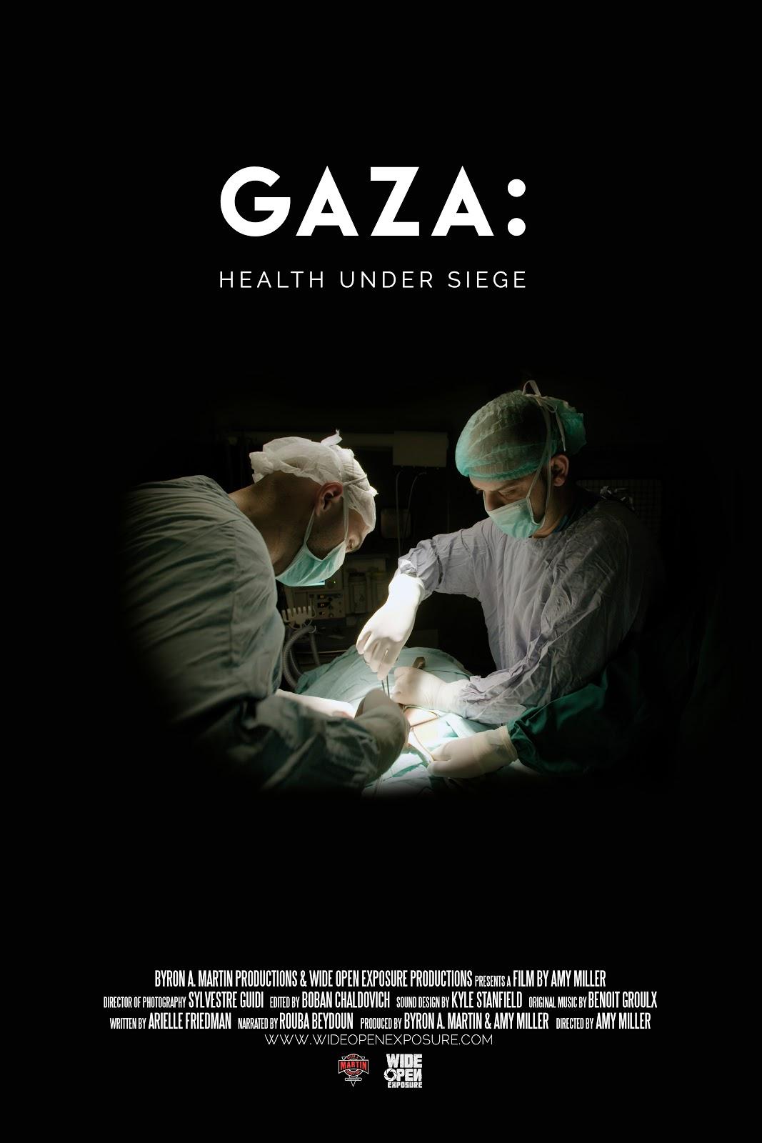Amy Miller Photography byron a. martin: gaza: health under siege - documentary