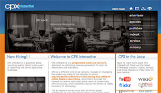 cpx interactive  CPM ad network
