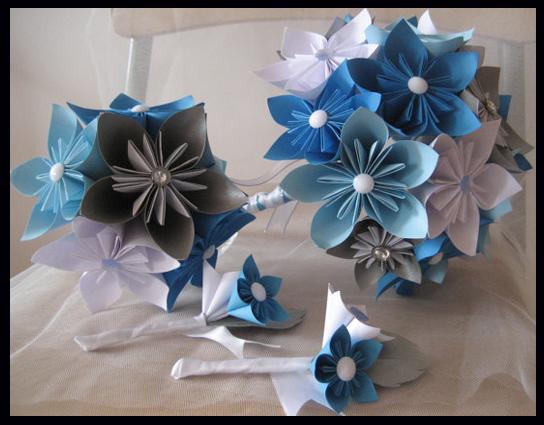 Matrimonio Tema Origami : Decoración de ambientes fiestas y eventos con origami