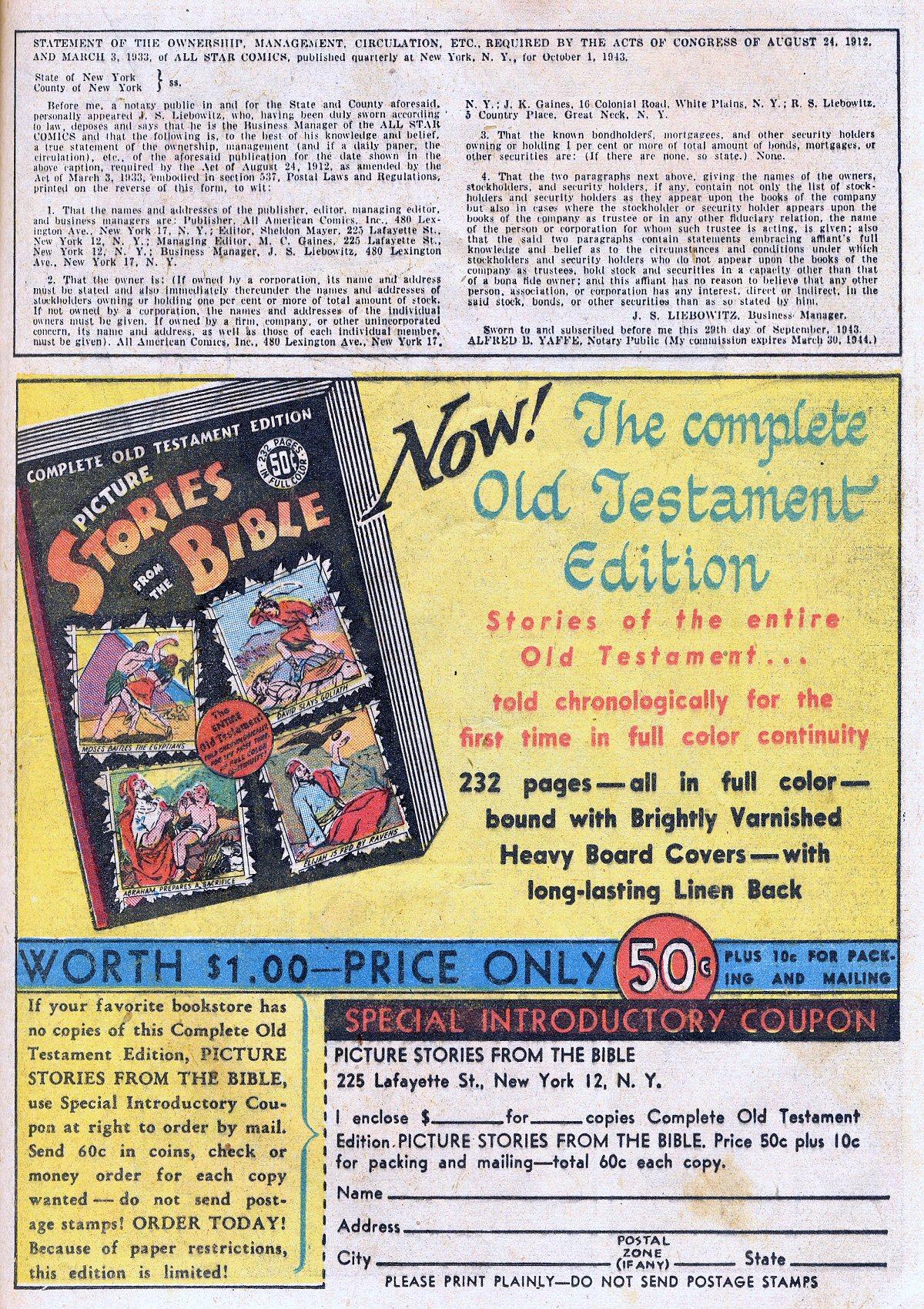 Read online All-Star Comics comic -  Issue #20 - 36