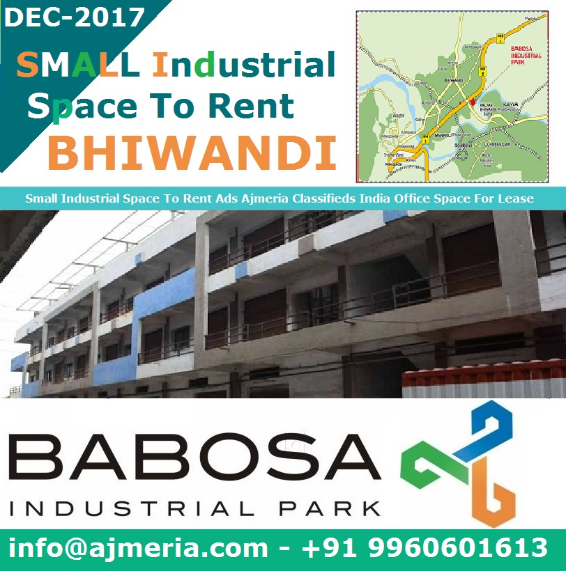 Small Industrial Space To Rent Ads Ajmeria Classifieds India Office ...