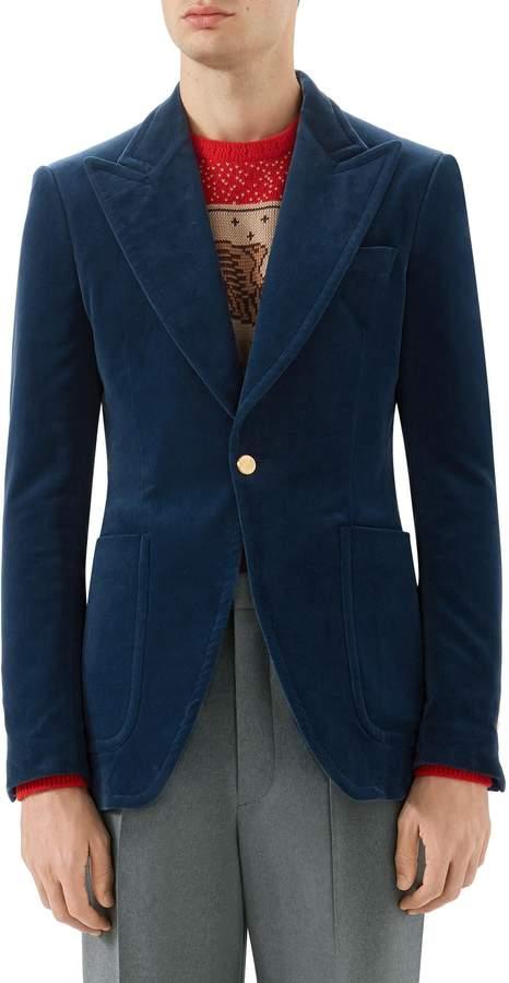 Gucci Velvet Jacket
