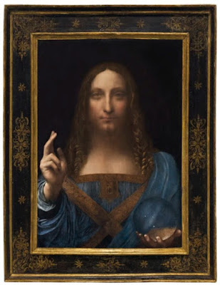 """Salvator Mundi""; la toile la plus chère au monde"