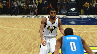 NBA 2K13 George Hill Pacers-Heat Conference Finals Update