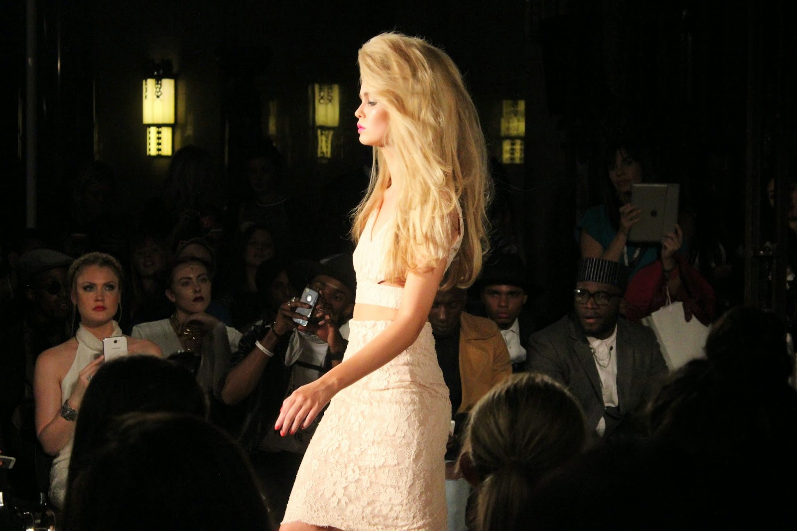 london-fashion-week-2014-lfw-spring-summer-2015-blogger-fashion-Hema-Kaul-catwalk-models-freemasons hall-fashion-scout-twosie-top-skirt