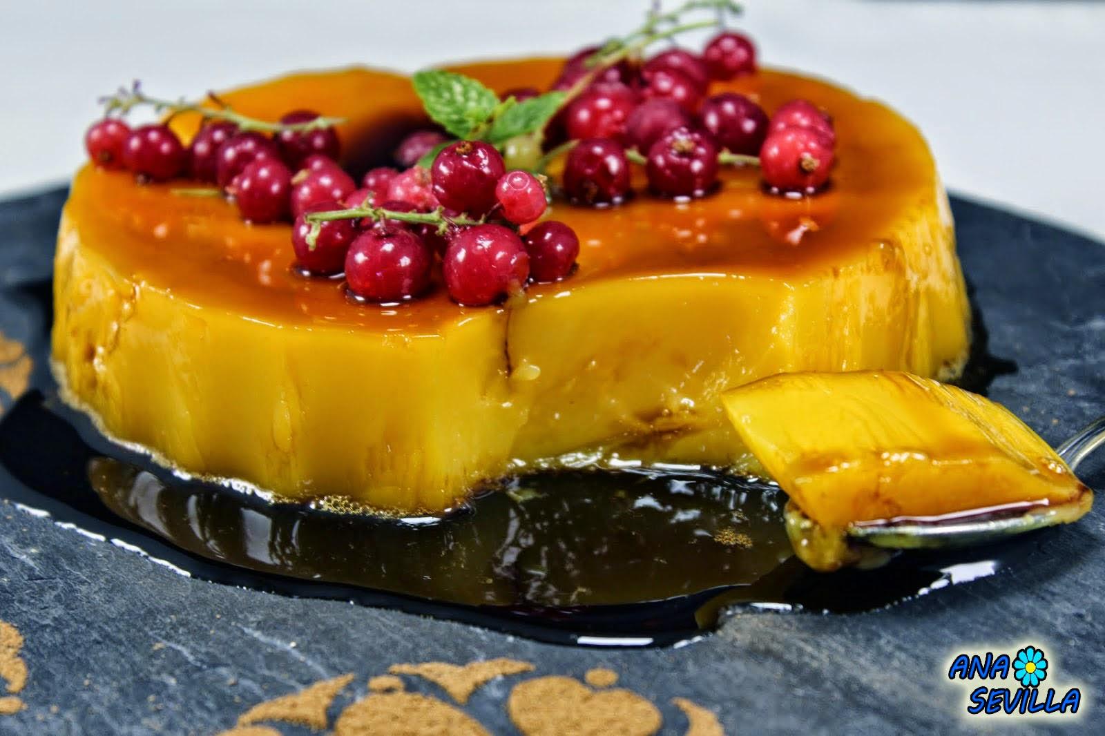 Tocino de cielo Ana Sevilla cocina tradicional