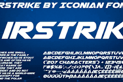 Download Kumpulan Font Keren yang sering digunakan Desainer Stiker