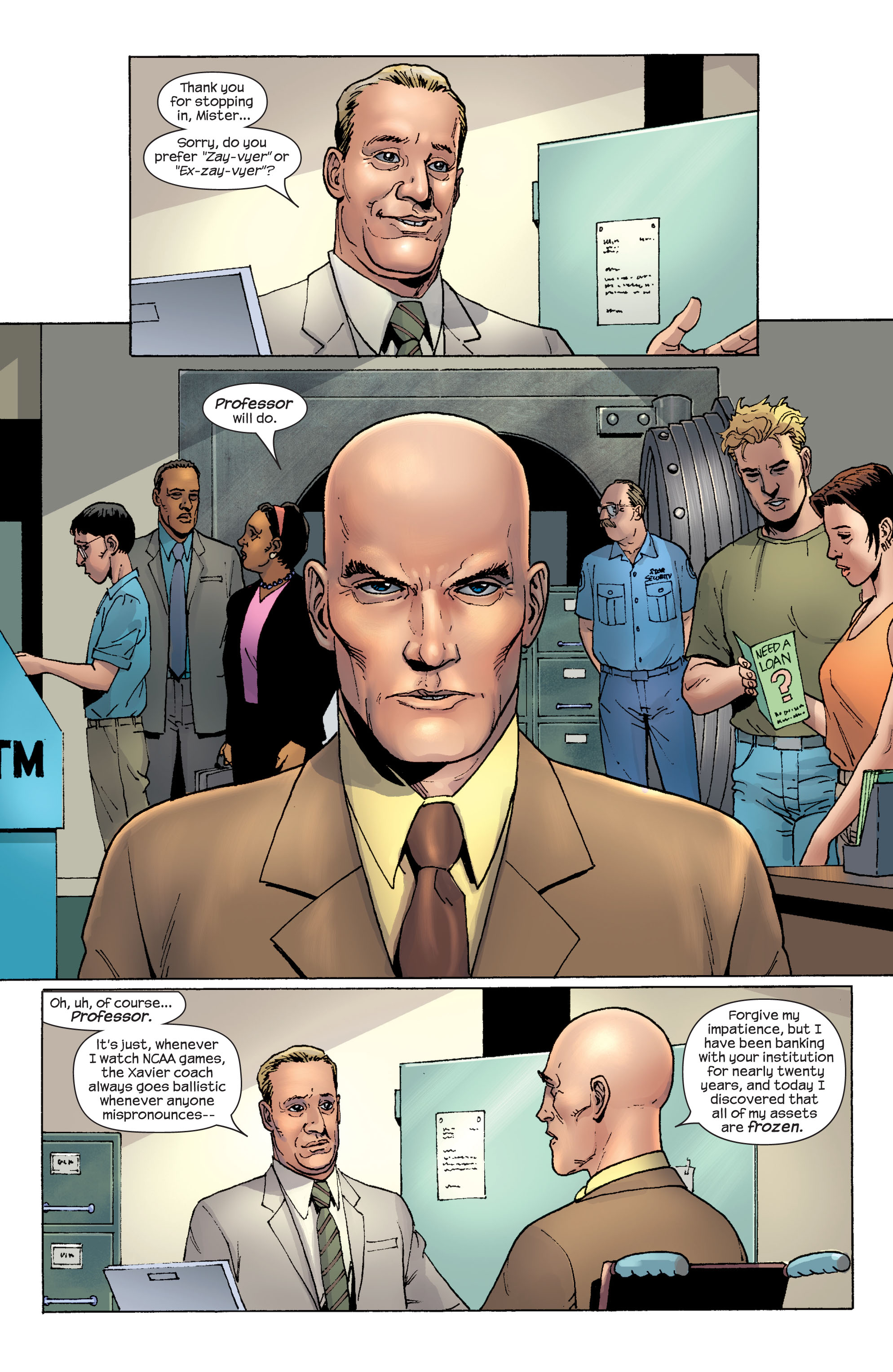Read online Ultimate X-Men comic -  Issue #58 - 3