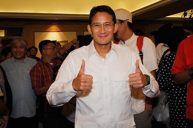 Dapat Restu Prabowo, Besok Sandiaga Uno Bakal Daftar Cagub ke PDI-P dan PKB