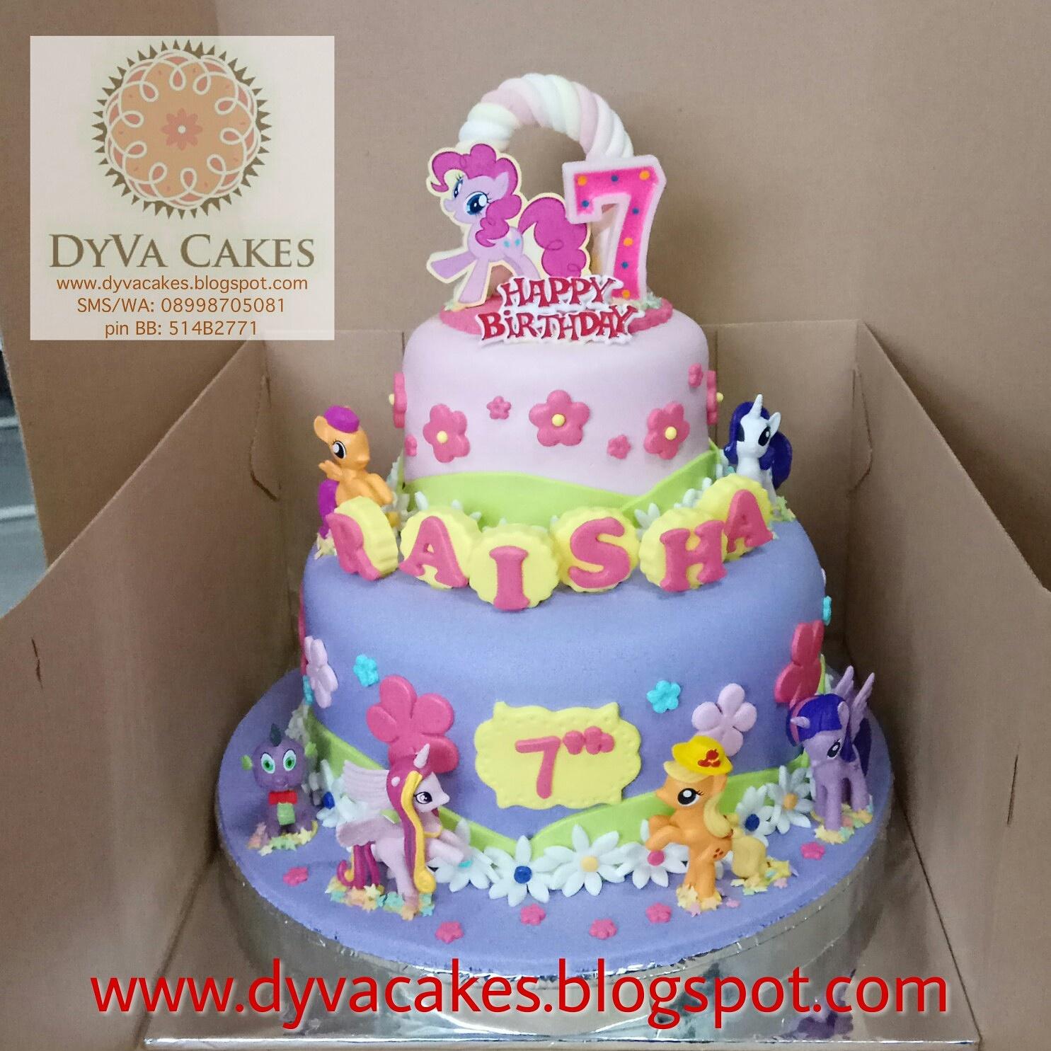 Dyva Cakes My Little Pony Birthday Cake