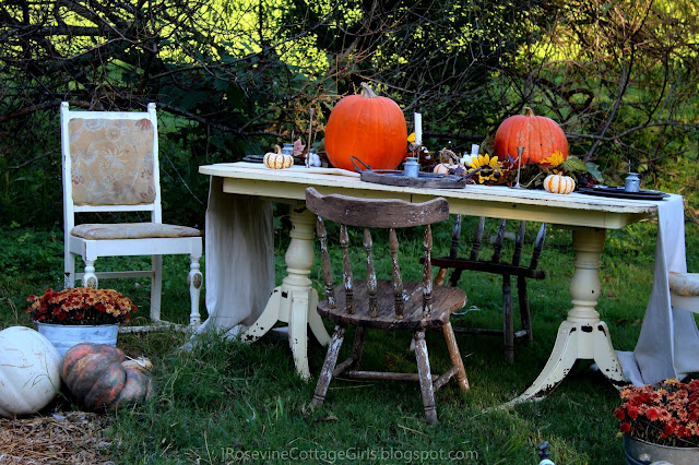 Beautiful country Thanksgiving table