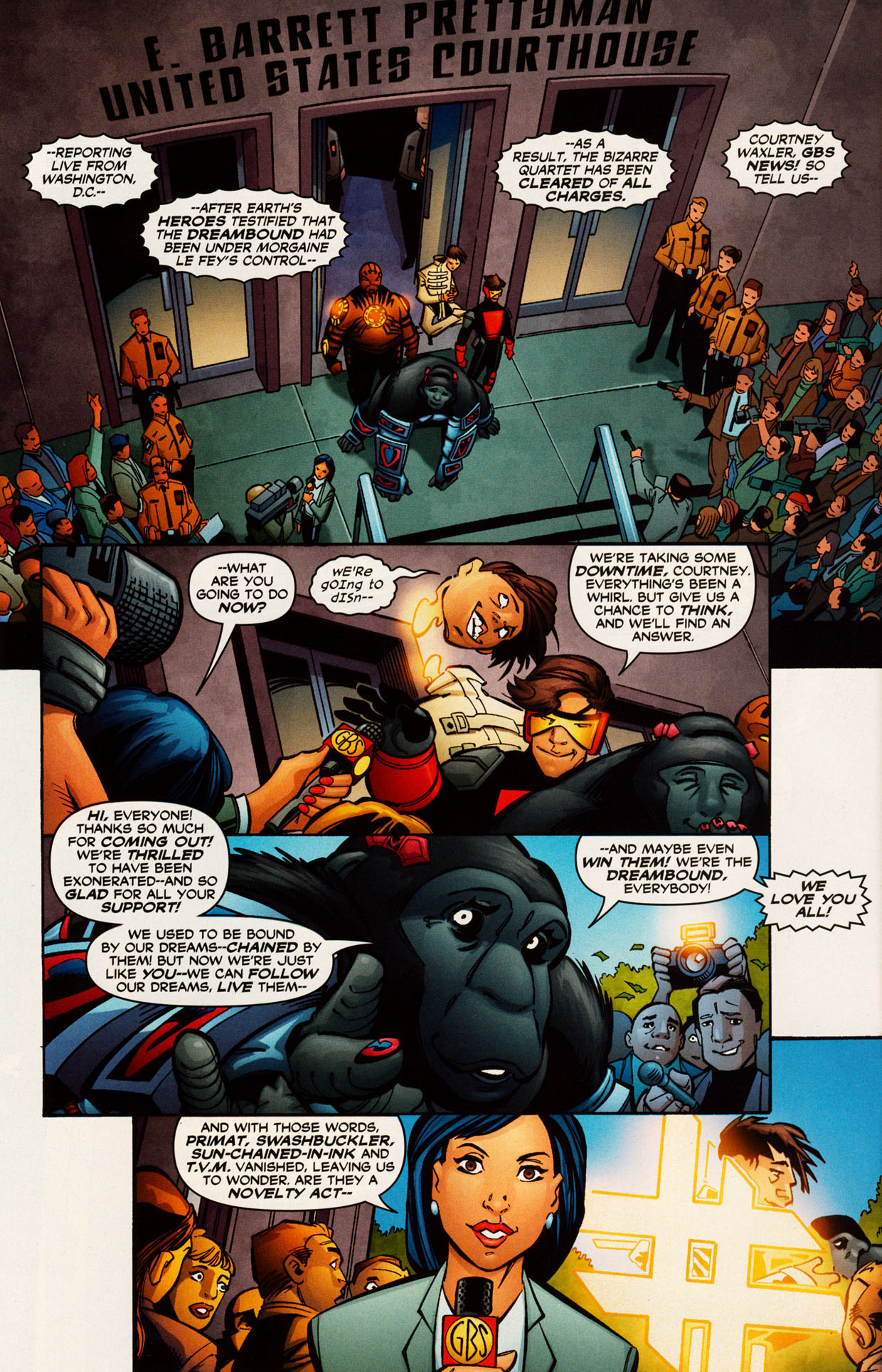Read online Trinity (2008) comic -  Issue #52 - 23
