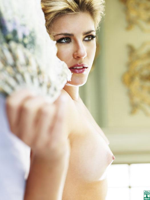 Iris Stefanelli pelada, nua na Playboy 15
