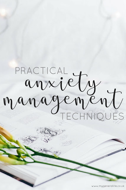 Practical Anxiety Management Techniques - let's talk about some of the things that you might consider trying in order to feel more in control of your anxiety. We talk about what anxiety actually is, how it works and how you can work on reducing the impact it has on your life in order to promote positive health and wellbeing.