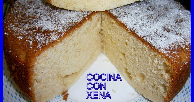 Cocina con xena bizcocho con nata for Cocina con sergio bizcocho