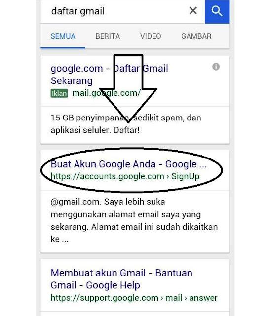 Tips buat email baru
