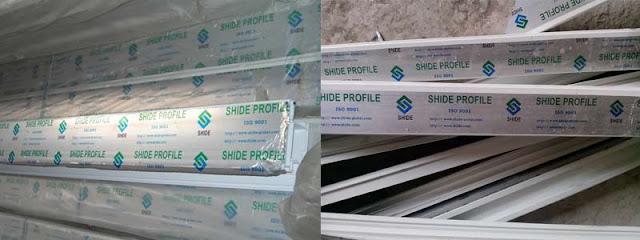 Thanh Shide Profile dùng trong sản xuất cửa nhựa lõi thép đông á