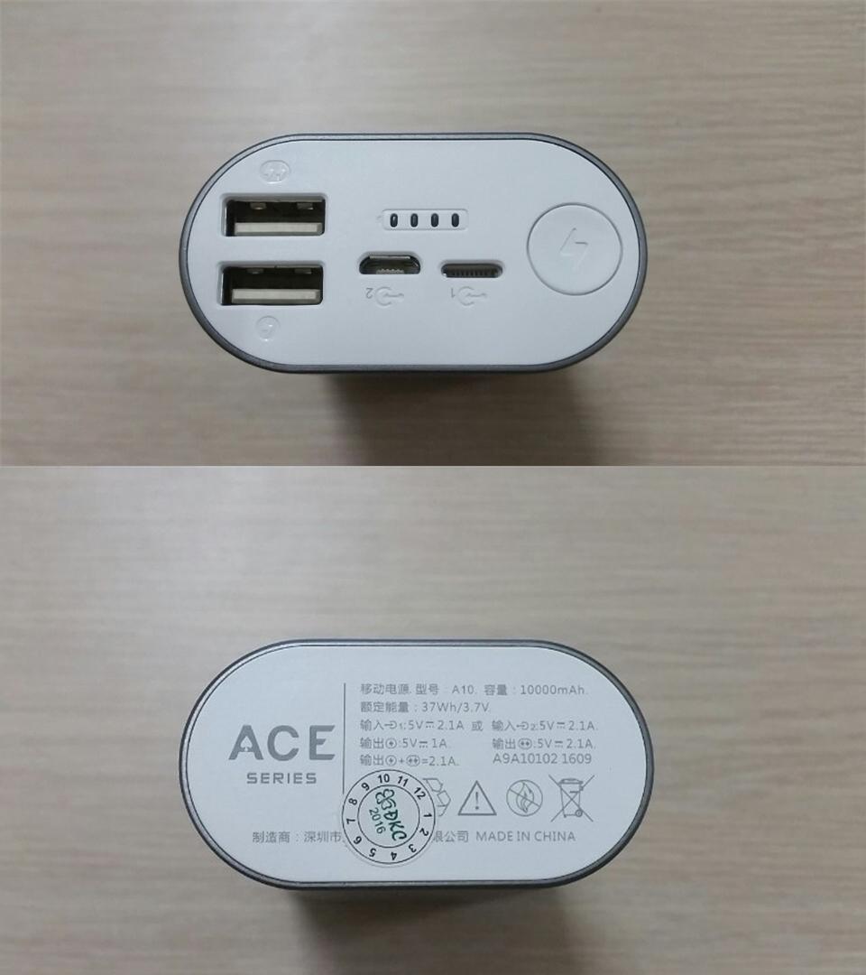Pin sạc dự phòng Romoss ACE A10 10000mah chính hãng giá rẻ