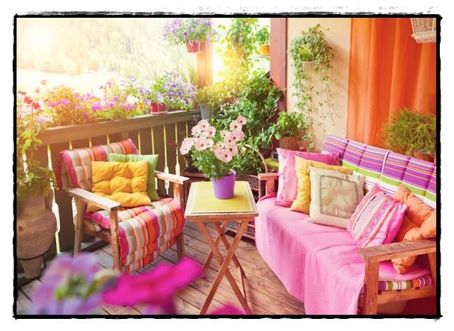 Balkonowy Ogród - nie masz domu z ogrodem a chcesz mieć swoją przestrzeń do relaksu?